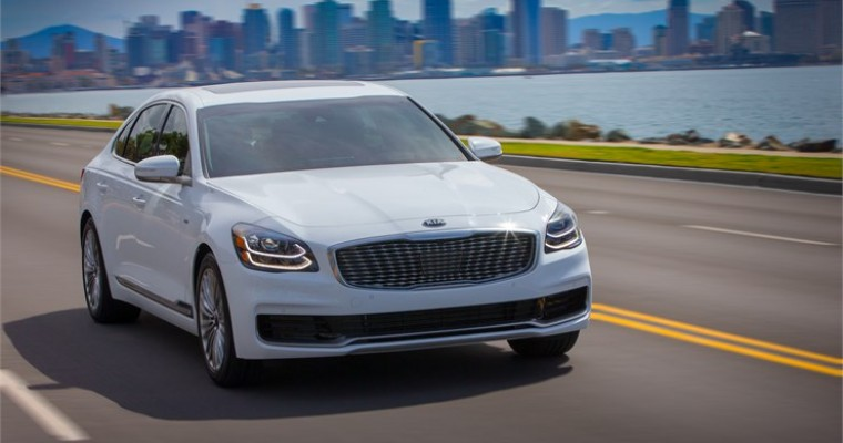 2019 Kia K900 Makes First World Appearance at New York International Auto Show