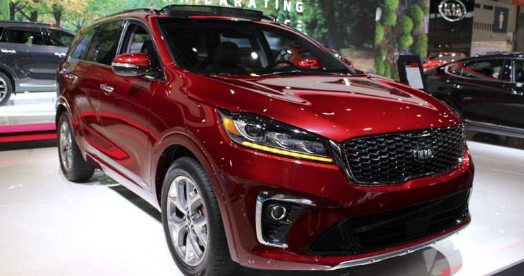 2019 Kia Sorento Pricing and Feature Upgrades