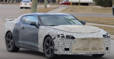 2019 Chevy Camaro Spy Shots
