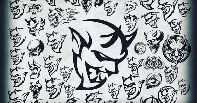Dodge Designer Releases Concept Art for the Dodge Demon's Logo