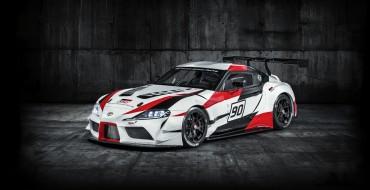 Toyota Unveils Supra Concept