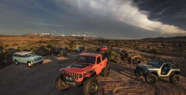Jeep Showcases Seven Concept Vehicles During the 52nd Annual Moab Easter Jeep Safari