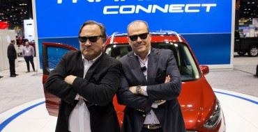[Photos] Jim Belushi Wants You to Know That the 2019 Ford Transit Connect Wagon is for Baby Boomers