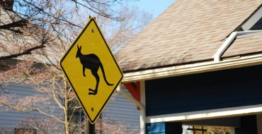 Kangaroo Crossing Sign Drama Unites Neighborhood in a Land That's Not Down Under