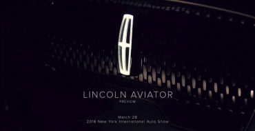 Lincoln Aviator to Make Long-Anticipated Return at 2018 New York Auto Show