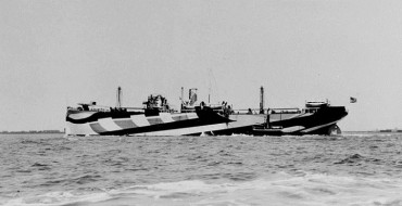 Camouflage That Now Stymies Spy Shots Was First Used to Ward Off German U-Boats in World War I