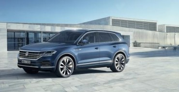 Volkswagen Reveals New Touareg in China