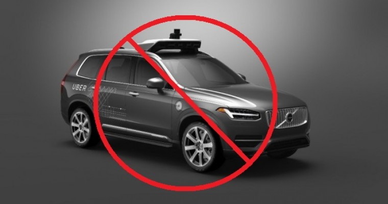 Arizona Officially Cuts Off Uber's Self-Driving Testing in the State