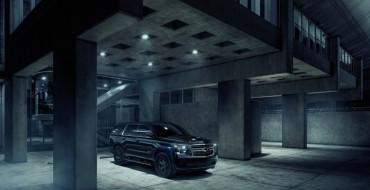 Chevy Unveils Darkly Styled 2018 Tahoe Custom Midnight Edition