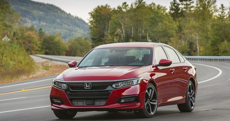 Honda Accord, Civic, & CR-V Earn 2018 Edmunds Best Retained Value Awards