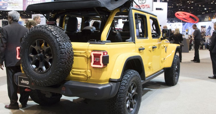 2018 Jeep Wrangler Named One of U.S. News & World Report's Fastest Cars for the Money