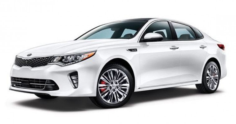 After Passenger-Side Upgrades, 2018 Kia Optima Earns Top Safety Pick+ Status
