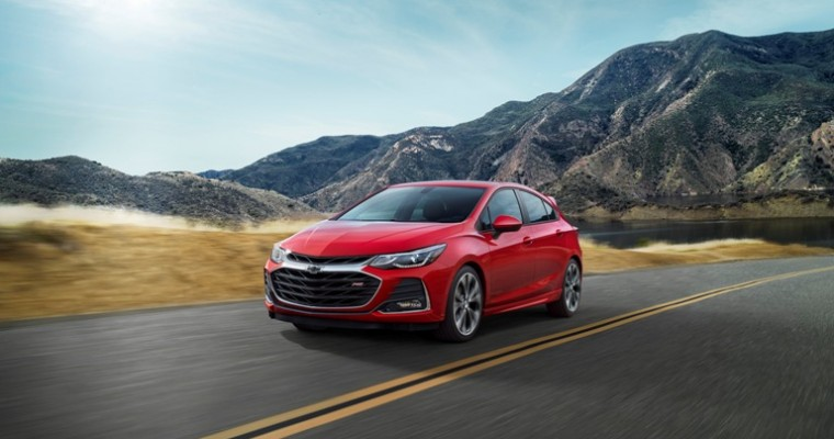 Chevy Cruze Gets a New Look and a New Trim for the 2019 Model Year