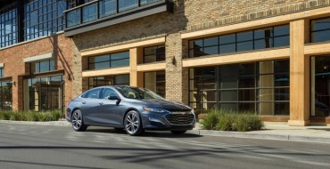 Chevrolet Malibu Adopts a New Look and a RS Trim for the 2019 Model Year