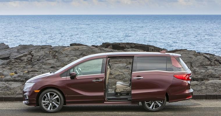 2019 Honda Odyssey Arrives at $31,065