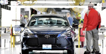 All-New 2019 Toyota Avalon Finally Rolls Off the Assembly Line