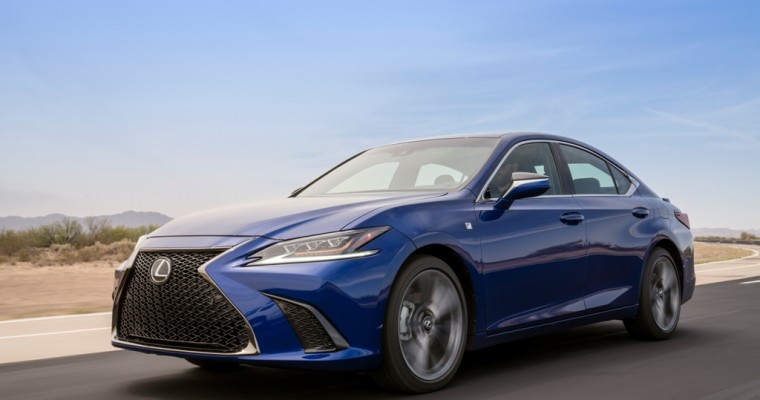 [PHOTOS] Lexus Unveils Next-Generation 2019 ES at Beijing Auto Show