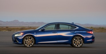 Lexus Announces Pricing, Efficiency Figures for Redesigned 2019 ES