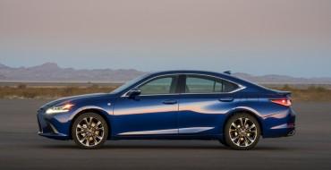 Lexus Announces Pricing, Efficiency Figures for Redesigned 2019 ES