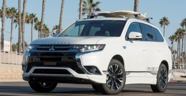 Mitsubishi Outlander PHEV Passes the Global 200,000-Sales Milestone