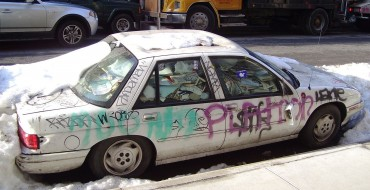 It Turns Out Small Cars Are a Big Draw for Vandalism