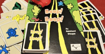 Beep! Beep! A Fast-Paced Card Game About Avoiding Wildlife on the Road