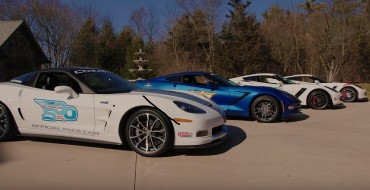 A Retired CEO Is Auctioning Off His Collection of Indy 500 Corvette Pace Cars