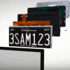 High-Tech License Plates That Alert First Responders in the Likelihood of a Crash