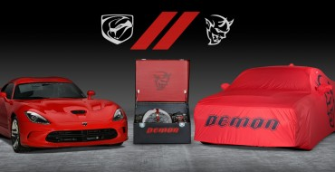 FCA to Auction Off the Last Dodge Viper and Last Dodge Demon as a Pair