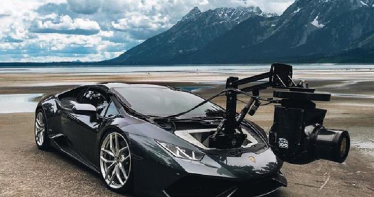 Lamborghini Huracán Converted into World's Fastest Camera Car