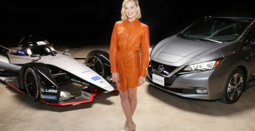 Margot Robbie and Nissan Hit the Road for Formula E