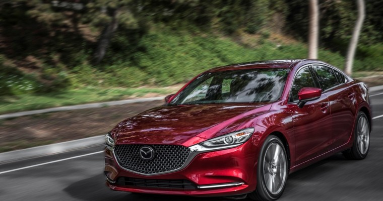 Mazda6 Earns Top Safety Pick Designation