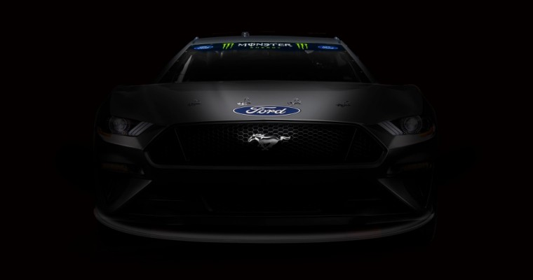 Ford Mustang Finally Going Racing in NASCAR Monster Energy Cup Series in 2019
