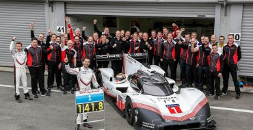 Modified Porsche LMP1 Car Beats F1 Track Record at Spa