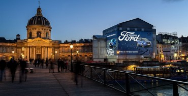 Ford EcoSport Makes Big Impression with Two Massive Displays in Paris