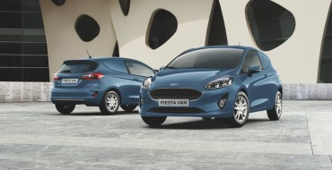 Ford Introduces All-New Fiesta Van at CV Show in Birmingham