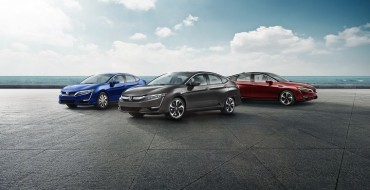 Honda Clarity Series Earns 2018 California Air Quality Award