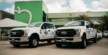 Ford Donates 38 Vehicles to Nonprofits at Texas Is Family Event in Houston