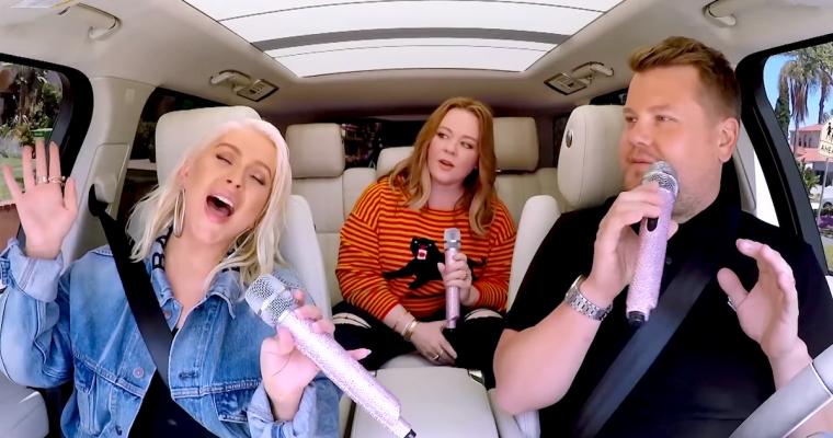 Christina Aguilera Talks Childhood Crushes and Being a Diva on James Corden's Carpool Karaoke