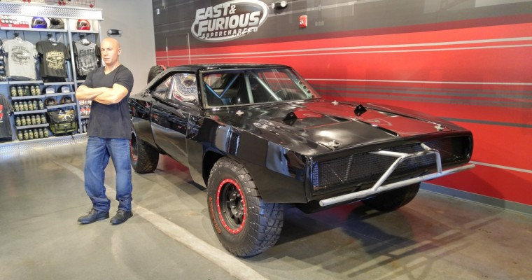 """Fast & Furious: Supercharged"" Celebrates Its Grand Opening at the Universal Orlando Resort"