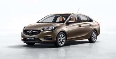 Buick Introduces New Excelle Sedan for Its Chinese Vehicle Lineup