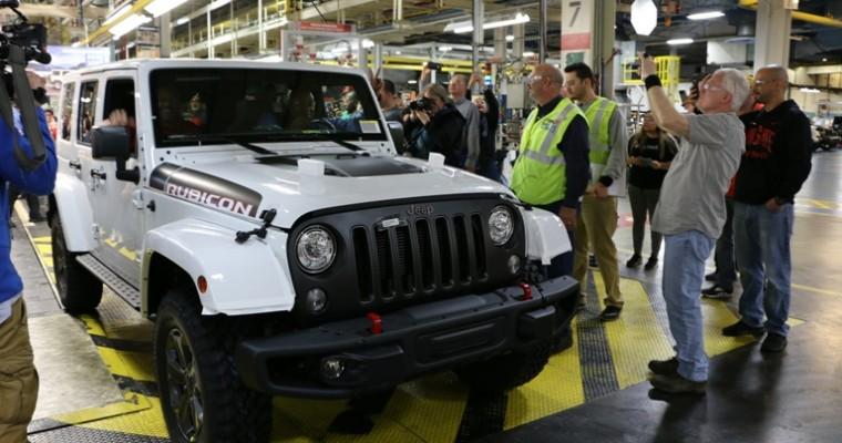 Final Jeep Wrangler JK Model Rolls Off the Assembly Line
