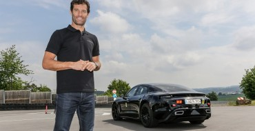 Porsche Mission E is a 'Game Changer,' Says Mark Webber