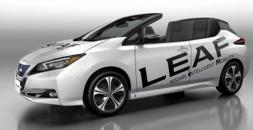 Gawk at the Beauty of the Nissan LEAF Convertible