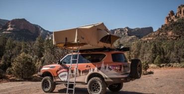 Nissan Rolls out Armada Concept Ready for Overlanding
