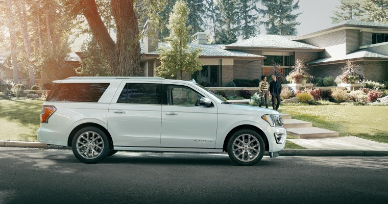 2018 Ford Expedition Gets Five Stars for Safety from NHTSA