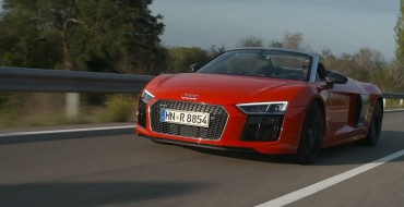 2018 Audi R8 Spyder Overview