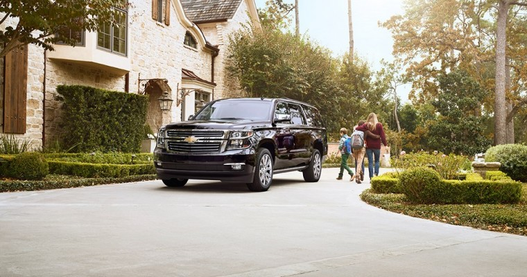Chevrolet Suburban Tops List of Most-Driven Vehicles