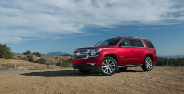 Chevy Tahoe Makes 2020 ALG Residual Value Awards List