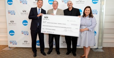 Infiniti Donates More Than $8 Million During NCAA Partnership